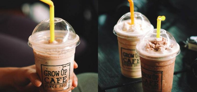 เย็นกับข้าว เช้ากาแฟ ที่ร้าน 'Grow Up Café' หลัง มข.