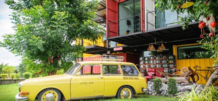 สัมผัสบรรยากาศห้องพักตู้คอนเทรนเนอร์และทิวทัศน์ธรรมชาติอันสวยงาม ที่โรงแรม 'Little Box'