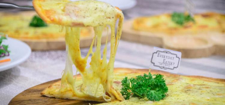 เต็มอิ่มกับเมนูพิซซ่าโฮมเมดรสเลิศ ราคาย่อมเยา และเมนูอาหารอิตาเลี่ยนแบบจัดเต็ม ที่ร้าน 'Everyday Eatery'