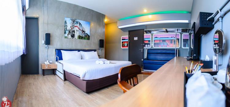 สัมผัสประสบการณ์และบรรยากาศการพักผ่อนกับห้องพักสไตล์รถไฟ ที่โรงแรม 'The Terminal'