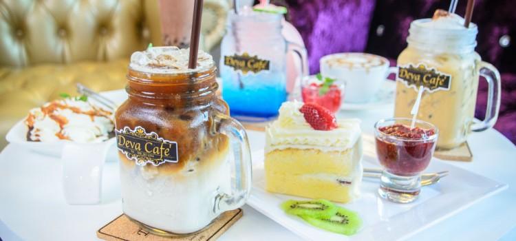 พักผ่อนจิบเครื่องดื่มกับร้านคาเฟ่น้องใหม่ สไตล์วินเทจโมเดิร์น ที่ร้าน 'Deva Cafe'
