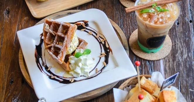เติมเต็มความสดชื่น ด้วยเมนูเครื่องดื่มหลากรส และของหวานแสนอร่อย ที่ร้าน 'My Simple Cafe&Room'
