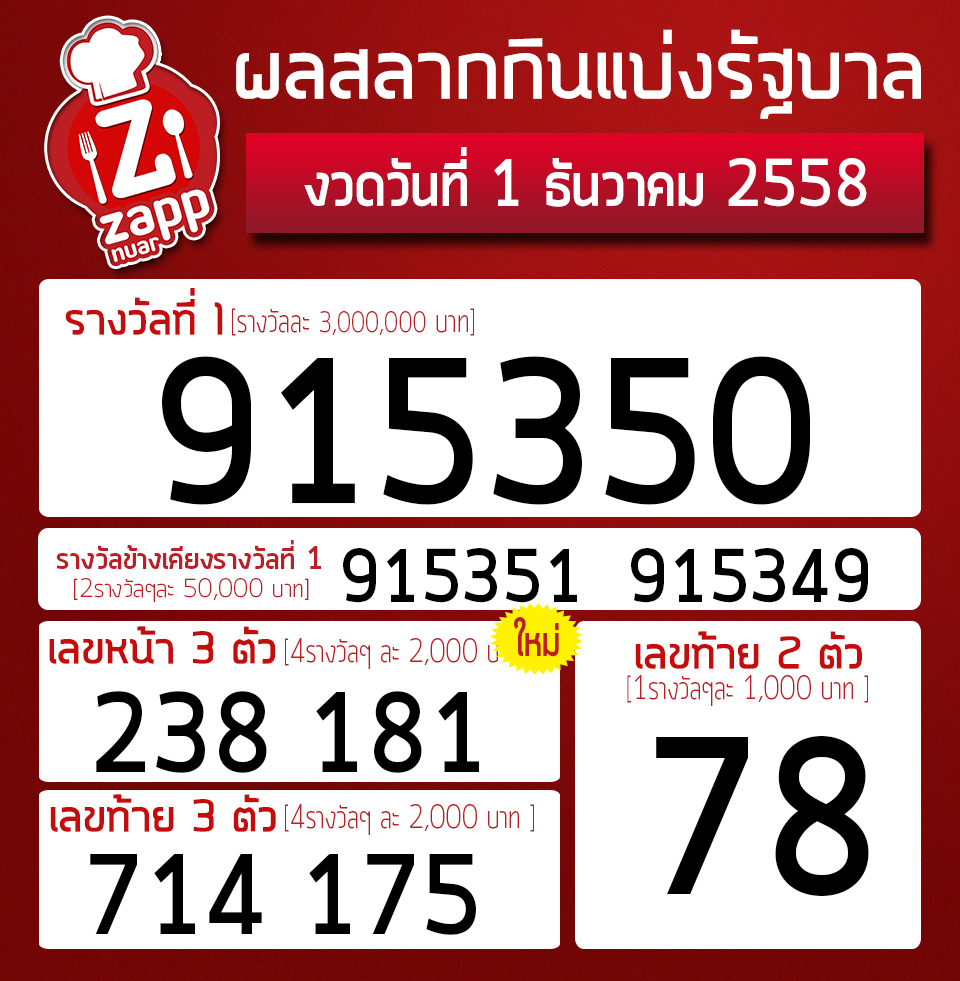 lottery1ธันวา